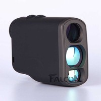 Black 1000M Laser Rangefinder Hunting Golf Laser Range Finder Waterproof Rangefinder Distance Measurement Daily Life Travelling
