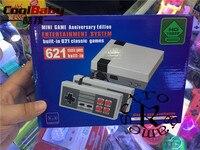 5 50 шт./лот CoolBaby HD Mini ТВ Семья игровой консоли HDMI 8 бит Ретро игровая консоль встроенный 621 игры Handheld игровой плеер