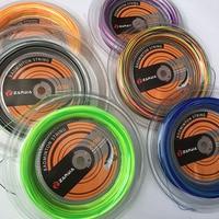 1 Reel ZARSIA Rainbow Badminton String Reel 200M Free shipping colorful badminton strings