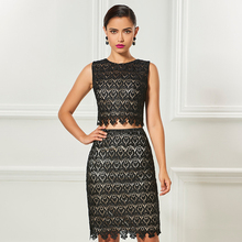 Tanpell crop top short cocktail dress black scoop sleeveless knee length sheath gown lady party formal customed dresses