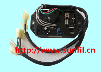 High quality Gasoline&diesel generator accessories AVR KI-DAVR-50S3 for  generators, three phase,Free shipping