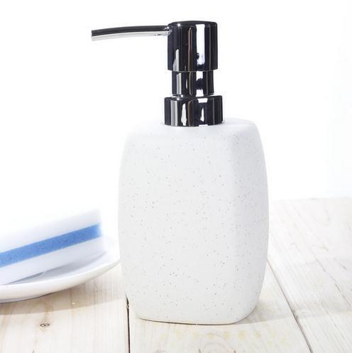 Fashion ceramic hand sanitizer bottle shower gel bottle shampoo sub-bottling bottle bathroom supplies botticing