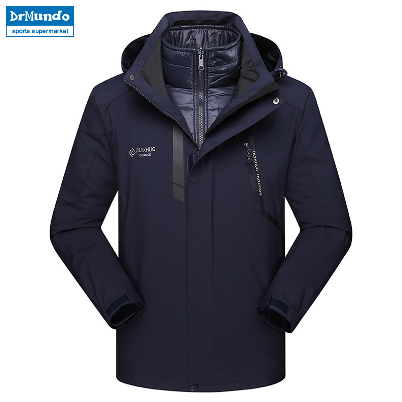 2019 New Ski Jacket Men Waterproof Snow Jacket Thermal Coat For Outdoor Mountain Skiing Snowboard Jacket Plus Size Ski-wear