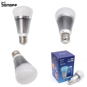 Image 5 - Sonoff B1 Smart Wifi lampe E27 lampe LED colorée à intensité variable rvb couleur lumière APP WIFI télécommande Via IOS Android pour les maisons intelligentes
