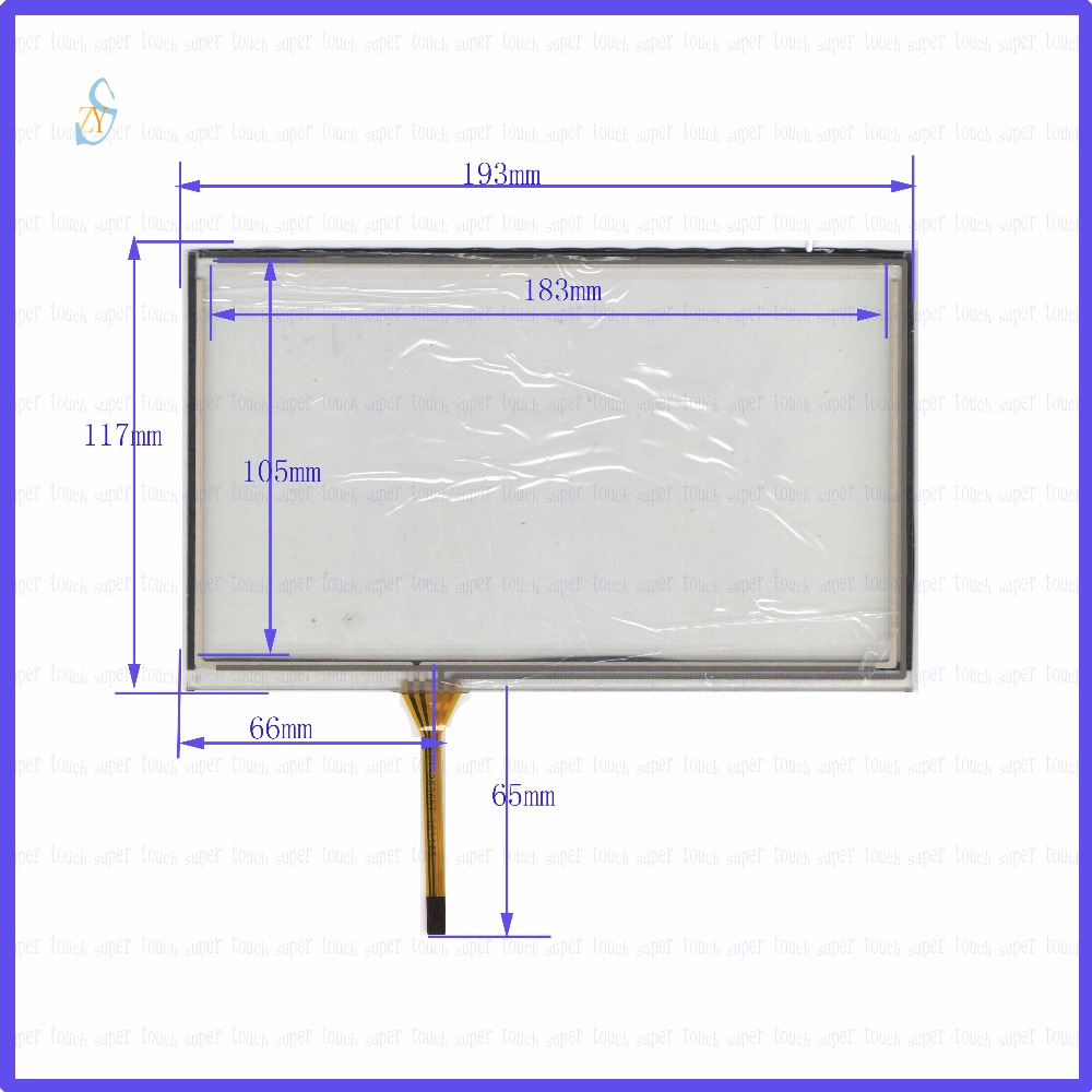 ZhiYuSun KDT-2536GT 8inch 4-wire resistive touch panel for Car DVD, 193*117GPS Navigator screen  glass this is compatible ZhiYuSun KDT-2536GT 8inch 4-wire resistive touch panel for Car DVD, 193*117GPS Navigator screen  glass this is compatible
