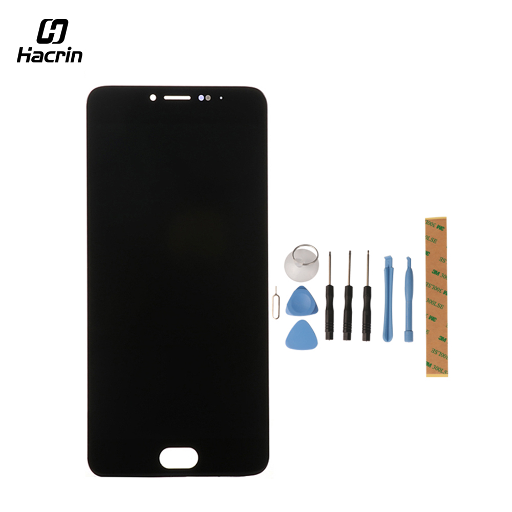 Hacrin for Meizu M3 Note LCD Display Touch Screen with Tools Glass Panel Digitizer Accessories For