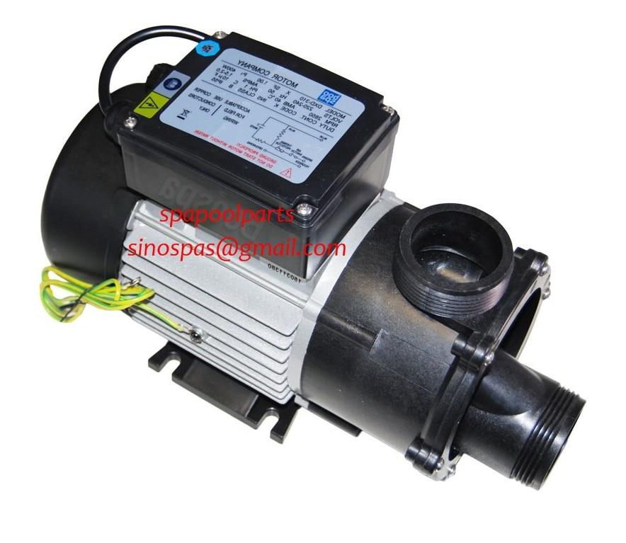 DXD 310A spa bathtub pump 1 HP 0 75 kW Fit DXD 310B DXD 310X DXD