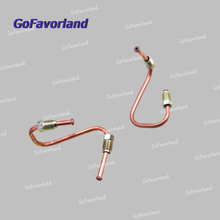 Pair Left+Right Side Brake Hydraulic Line 8D0611721F 8D0611722F For AUDI A4 A6 Quattro For VW Passat 1997-2005 For Skoda Superb цены онлайн