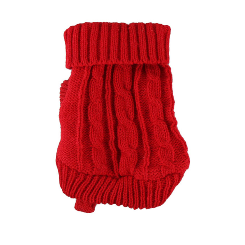 2017 hot sale popular 2016 Spring Pet Dog Cat Clothes Winter Warm Sweater Knitwear for Dogs Puppy Coat Apparel #0717 B