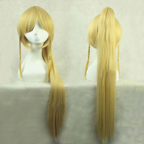 Adult Fashion Sword Art Online Long Straight Hair Cosplay Wig Anime Party Free free shipping new fashion black white long hair straight full harajuku wigs cosplay party wig