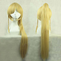 Adult Fashion Sword Art Online Long Straight Hair Cosplay Wig Anime Party Free