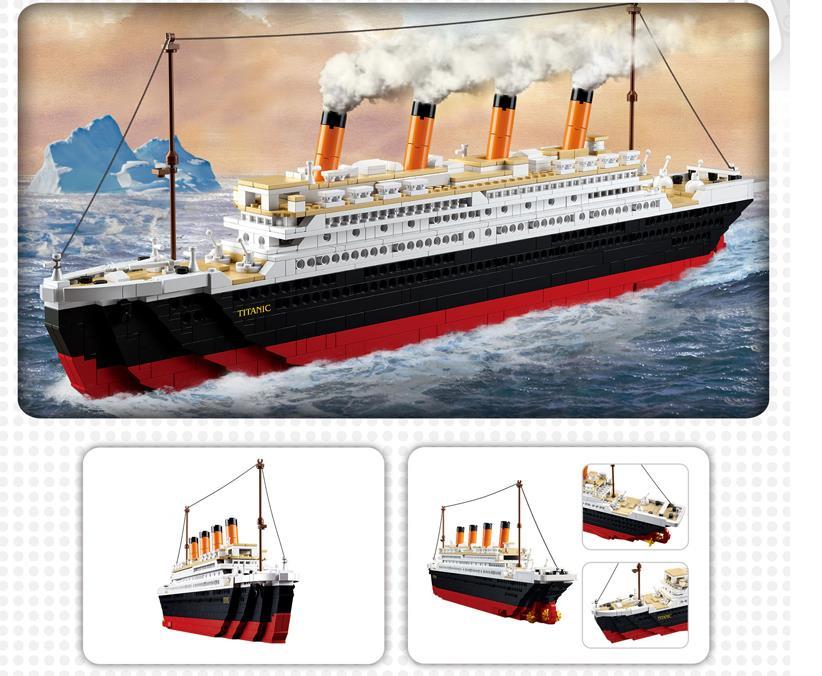 Titanic Building Block Cruise Ship Building Block Educational - Educational cruise ships