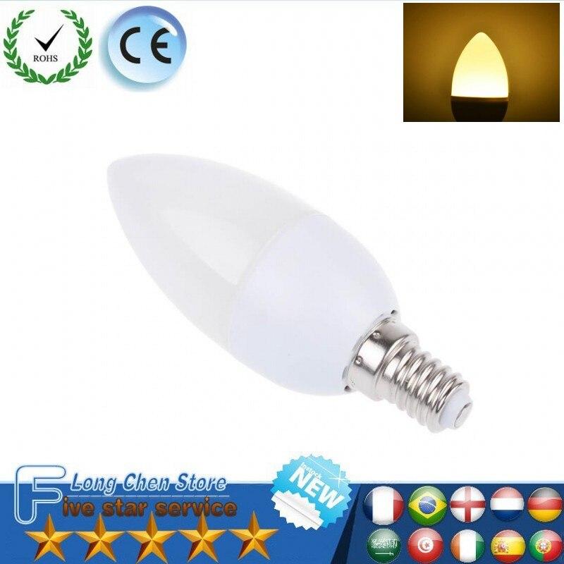 LED candle lamp 6W 8W E14 E27 LED bulbs SMD 2835 AC220-240V warm white/white for chandelier Led Spotlight for Home led lighting gcd m5 gu10 5w 220lm 2500k 46 x smd 2835 led warm white light car lamp ac 220 240v