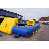 outdoor portable football pitch for sale,Customized inflatable soap soccer field,Inflatable Football Pitch Sport Arena