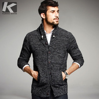 2015 Fashion Autumn Mens Sweaters Male Winter Cardigan Man S Black Knitwear Slim Fit Casual Brand