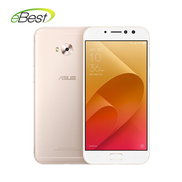 Original ASUS ZenFone 4 Selfie Pro ZD552KL mobile phone 5.5''FHD Octa Core Snapdragon 625 4GB RAM Dual Front lens smartphone