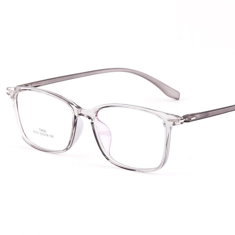 Vazrobe TR90 prescription Glasses Men Women Transaprent 1.56 1.61 1.67 index anti blue light reflection Spectacles progressive reflection
