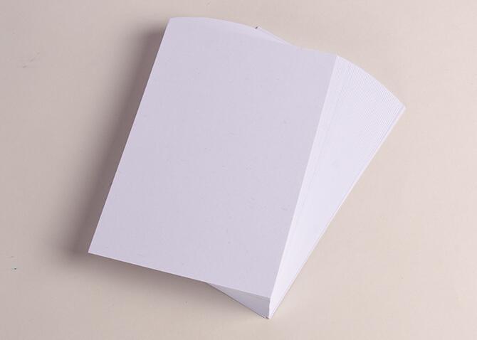 100*150mm branco liso papel cardstock grosso para