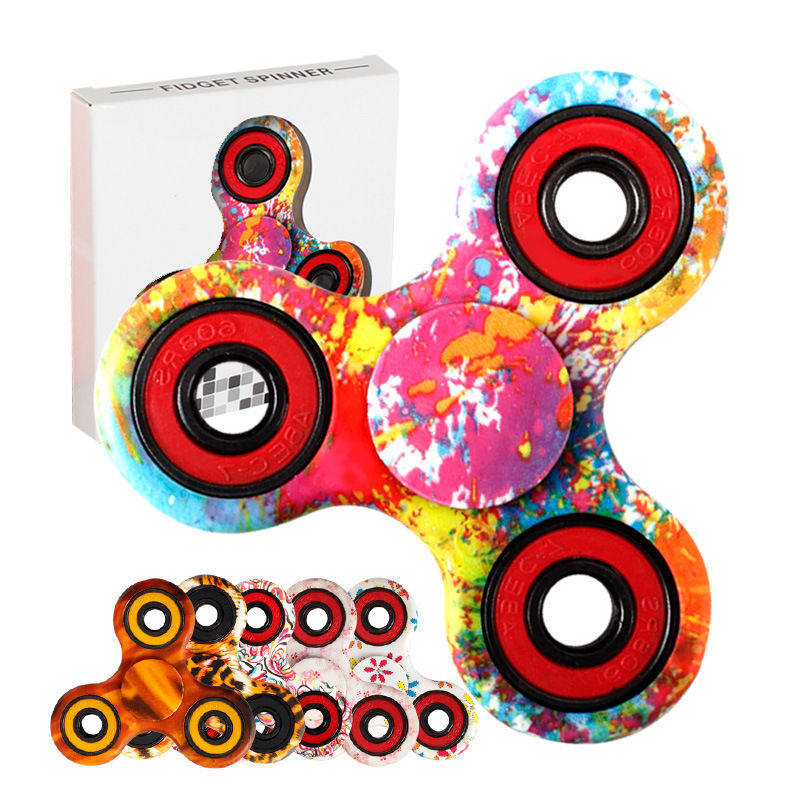 Tri spinner Antistress Fidget Hand Finger Spinner As LIZUN Function Spinning Toy Stress Wheel Any steering