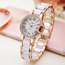 купить New Fashion Gold Bracelet Quartz Watch Women Luxury Brand Dress Watches Ladies Stainless Steel Casual Analog Wristwatches  в интернет-магазине
