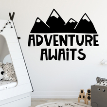 Lovely adventure awaits Wall Decal Living Room Removable Mural For Kids Rooms Nursery Decor Decoration Murals