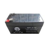 Selada de Chumbo 12 V 1.3ah Bateria Ácido Livre de Manutenção Solar Recarregável Processo Backup 1.2ah 98x45x56mm