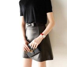 2019 New Fashion Genuine Sheep Leather Skirt G14