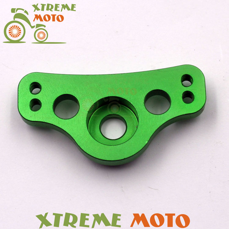 New Billet Aluminum Hour Meter Mounting Bracket For Kawasaki KX65 KX85 KX125 KX250 KX500 KX250F KX450F KLX450R KLX150 KLX250 billet rear hub carriers for losi 5ive t