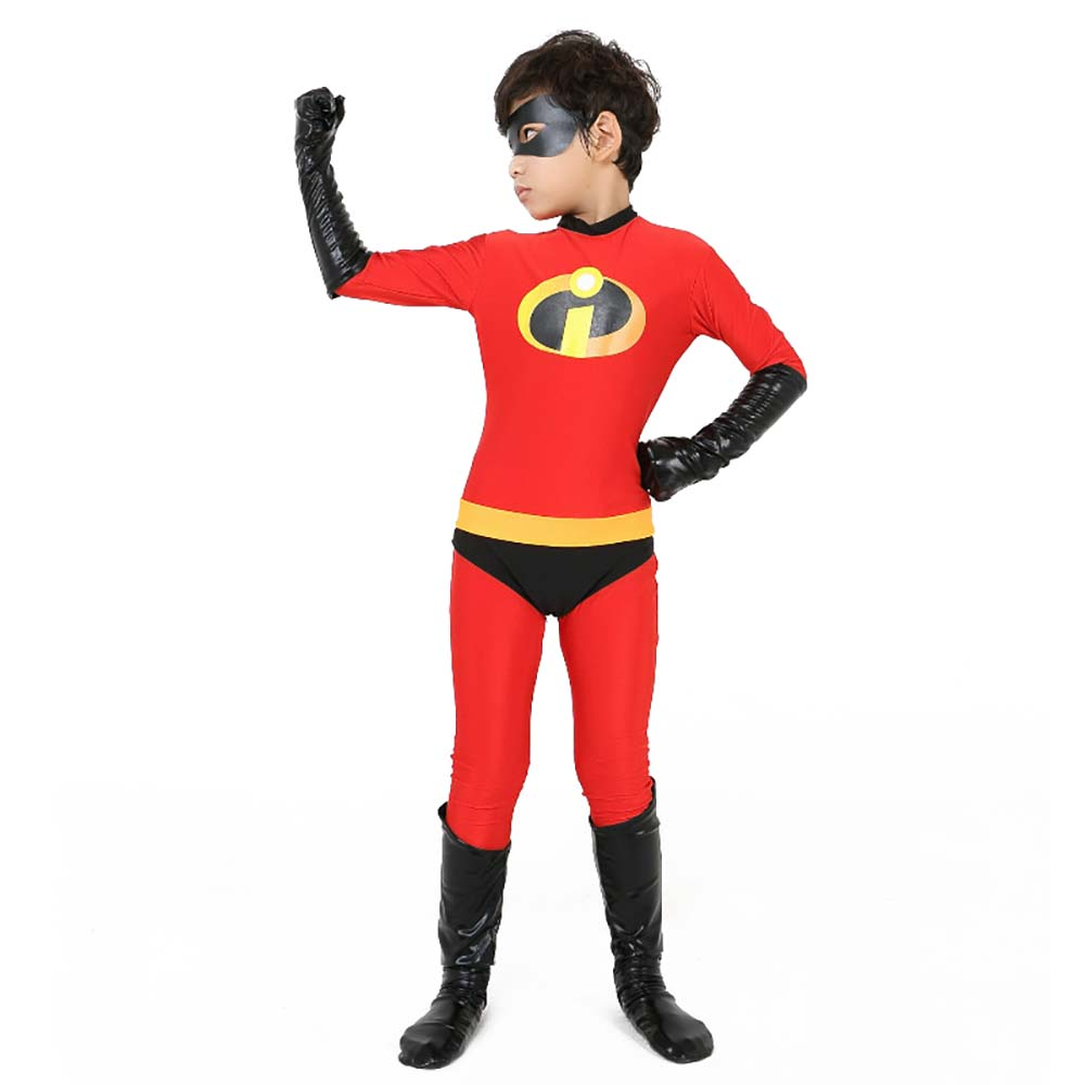 Mrs Incredible Womens Costume Ladies Fancy Dress outfit offical Licensed
