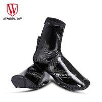WHEEL UP Waterproof Reflective Cycling Shoe Covers Thermal Windproof Bicycle Overshoes MTB Road Bike Rainproof Sneaker Cover|  -