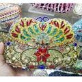 Multicolor Designer Diamond Crystal Evening Bag Women's Luxury Wedding Bride Purse Bright AB silver powder box Clutch Bag SC479