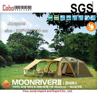 Family Standard Automatic Outdoor Double Layer Waterproof 8 PersonSun Light Preventing Cloth Tents Auto Camping Tents