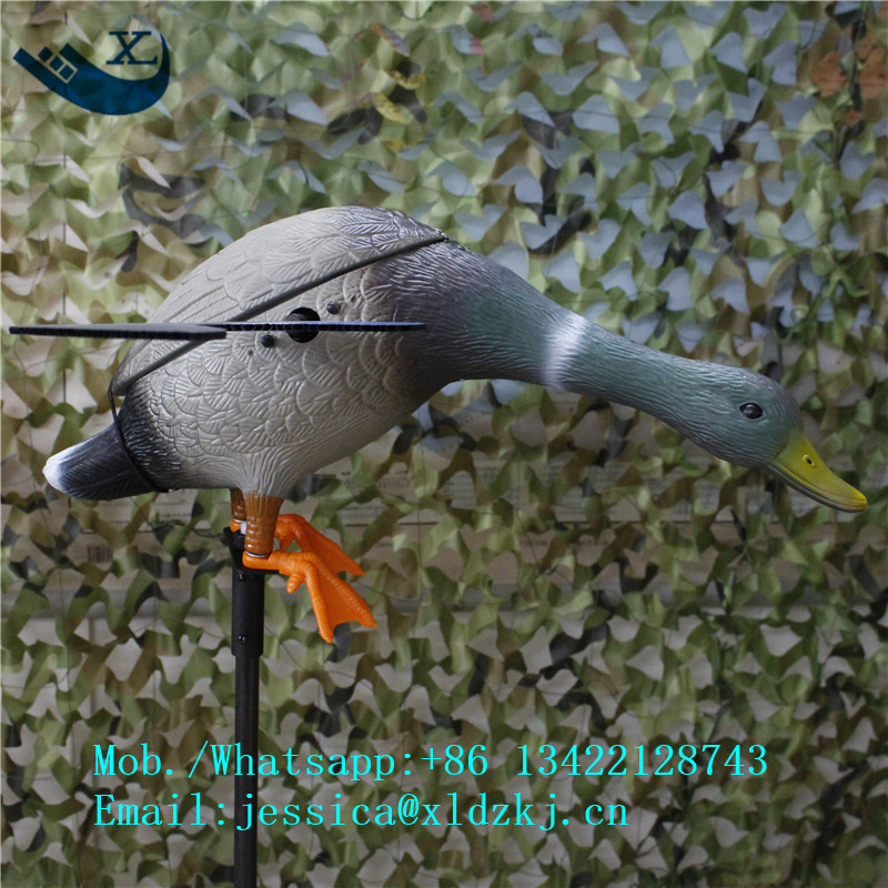 ФОТО Xilei Outdoors Duck Hunting Decoy Spinning Wings Motion Motorized Decoy