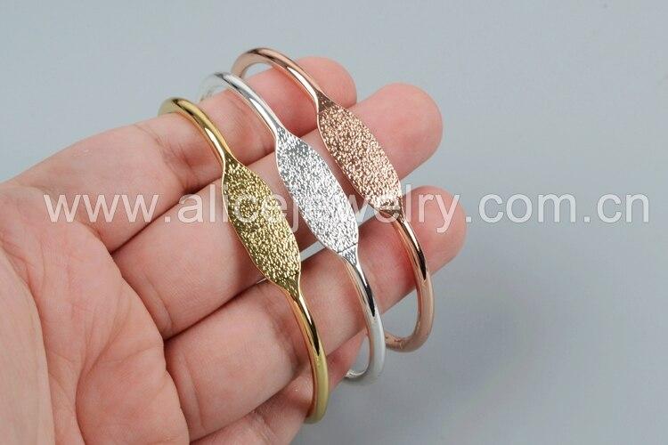 pulseira definir ouro prata cor manguito pulseira