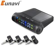 Eunavi Car TPMS Tire Pressure Monitoring System Solar Power