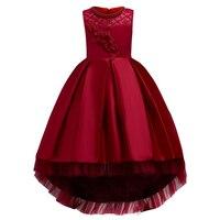 New Summer Girl Princess Party Dresses Children S Clothing Formal Dress Birthday Wedding Bridesmaid 3 14