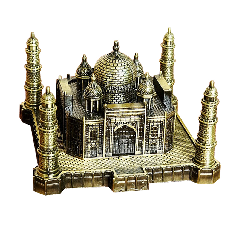 India Taj Mahal Decoratie Metal Crafts World Landmark Gebouw - Huisdecoratie - Foto 1