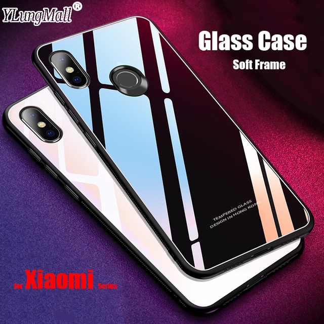 uk availability 86bb9 0b272 US $2.98 12% OFF|Tempered Glass Cover for Xiaomi Redmi Note 5 5A 4X 4 Mi 8  SE 6 6X A1 A2 Lite Mix 2S MAX 3 Pro Prime Plus 6A S2 Pocophone F1 Case-in  ...