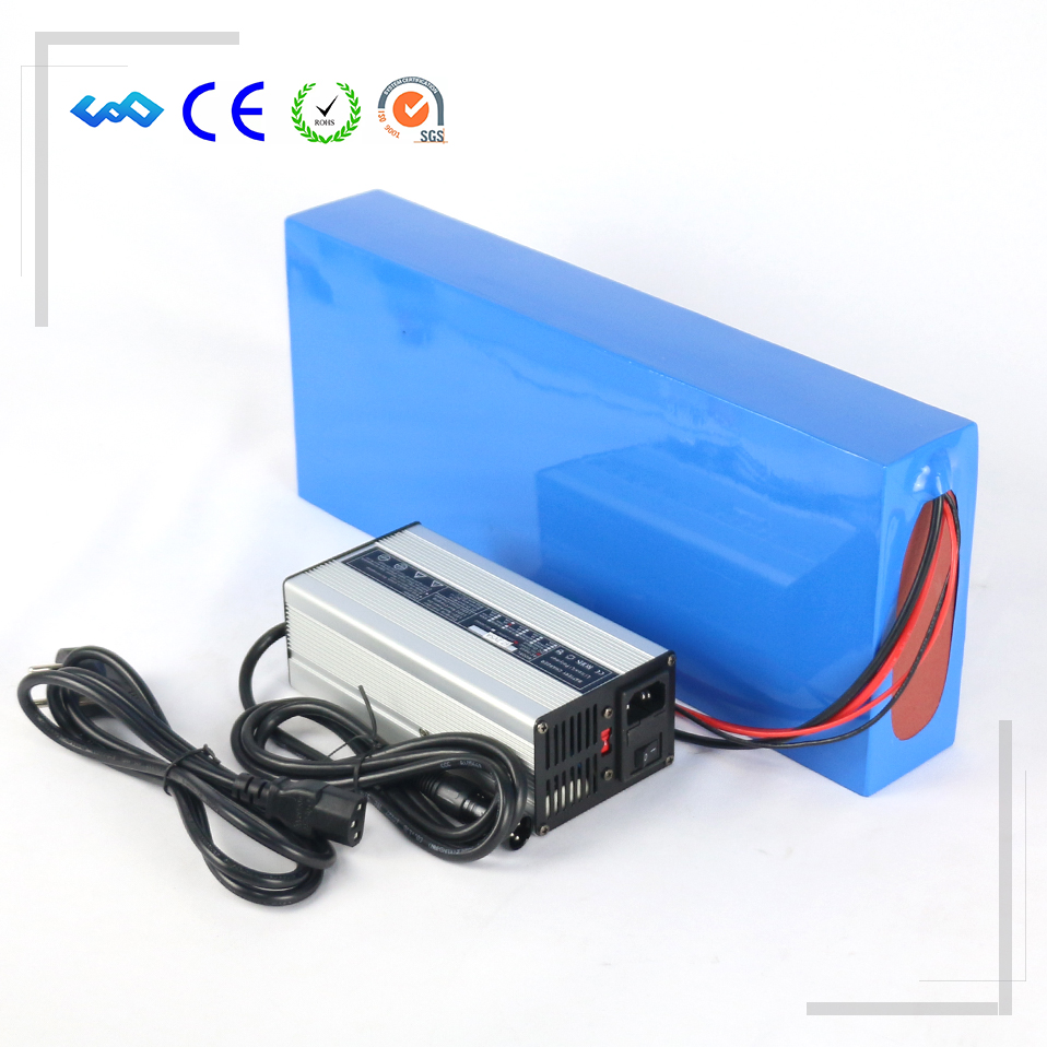 US EU No Tax 16S8P NCR18650GA cell Lithium ion Battery Packs 60V 28Ah Electric Scooter Battery Pack with 30A BMS 5A Charger powerful 48v electric bike battery pack li ion 48v 50ah 1000w batteries for electric scooter with use panasonic 18650 cell