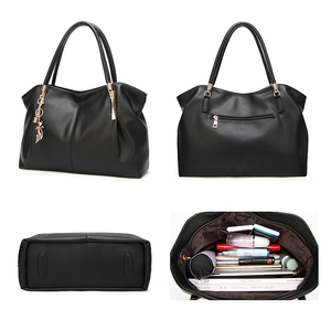 Image 4 - FUNMARDI 2020 حقائب النساء الفاخرة بولي Leather جلد النساء حقائب العلامة التجارية ملابس علوية مميزة مقبض حقيبة السيدات حقيبة كتف حقيبة الإناث WLHB1778