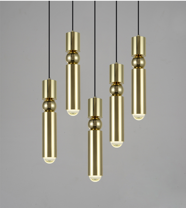Nordic Modern Pendant Light Antique Bronze Pendant Light Creative Cafe bar Restaurant Pendant Light Lighting