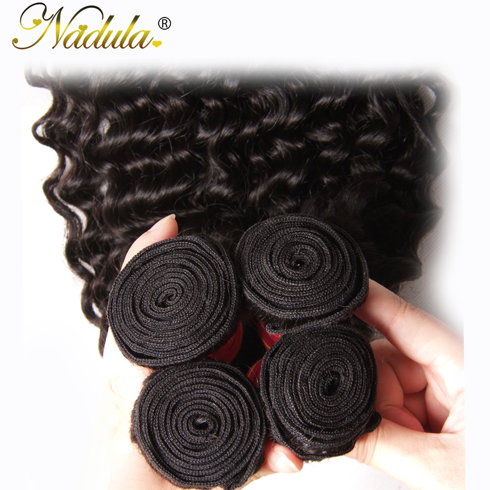 Nadula μαλλιά Περουβιανά μαλλιά βαθιά - Ανθρώπινα μαλλιά (για μαύρο) - Φωτογραφία 5