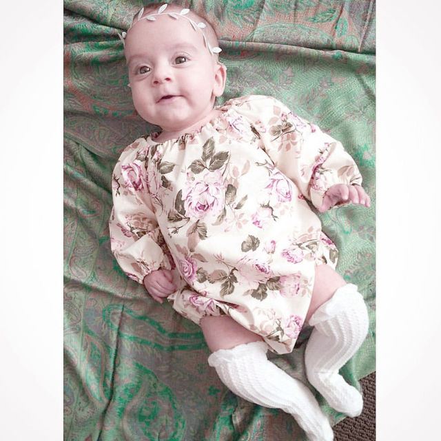 Summer Bodysuit for Newborn Baby Girl
