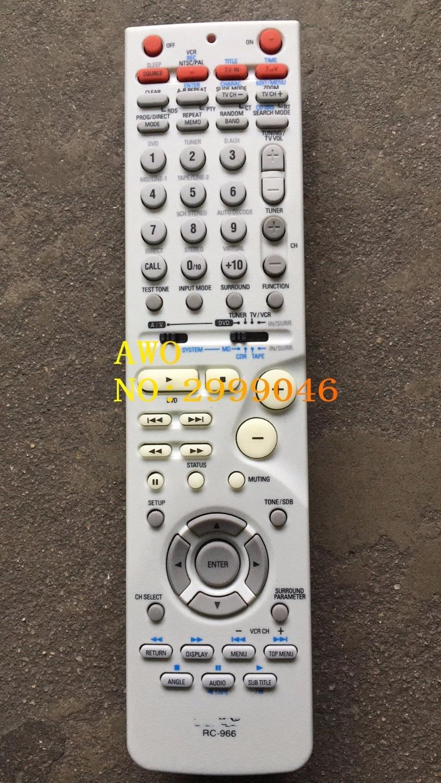 AWO REPLACEMENT Original AV Amplifier remote control FIT For DENON RC-966 remote control new replacement for sony rm aau013 av receiver remote control for ht ddw685 ht ddw790 e15 strdg500 strdh100 strdh500