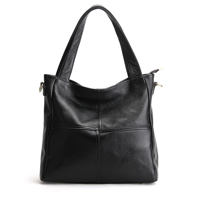 Hot Sell Genuine Leather Women Bags Casual Handbags Ladies Shoulder Bag Real Leather Messenger Bags Satchel Tote Bolso