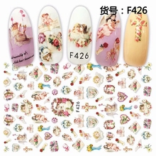 3d Nail Decal Stickers