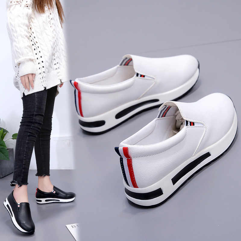 5709f80b68 Koovan Women's Sneakers 2019 Sports Shoes Mirror Colorful Sequin ...