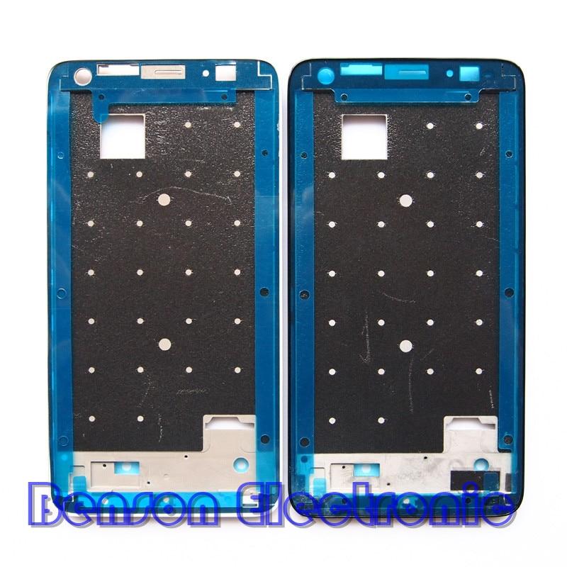 imágenes para BaanSam Nueva Holder LCD Marco Delantero de la Pantalla Para Huawei Honor 3X G750 Caso de Vivienda Con 3 M Adhesivo