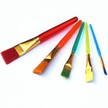 5 шт./лот помадка для выпечки цветная ручка кондитерские кисти на крем цветной тонер вышивка ручка ход воды цвет кисти для рисования Инструменты