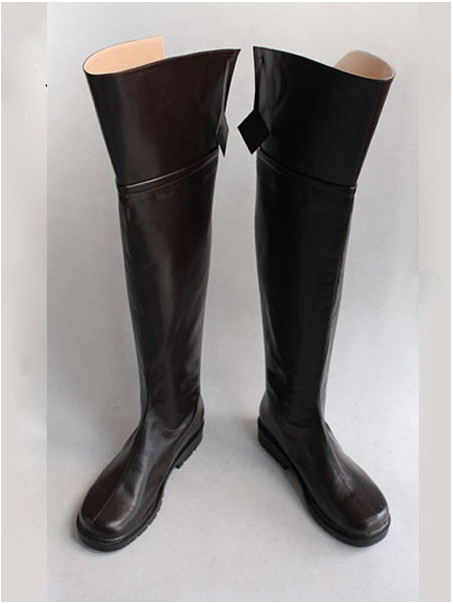 Aliexpress.com : Buy Plus Size Attack on Titan Boots Brown Leather ...